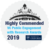 highly commended vc per awards 2019 badge