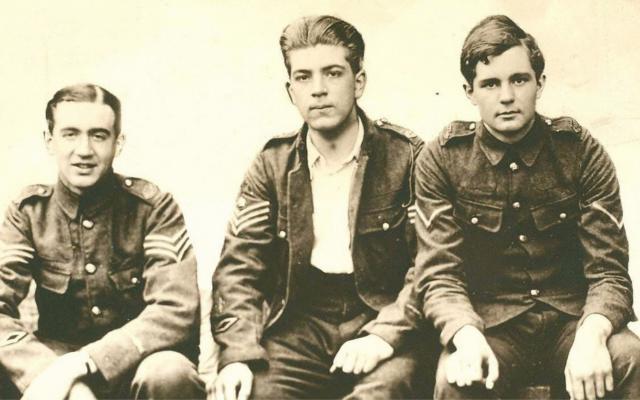 Edward Brittain, Roland Leighton and Victor Richardson