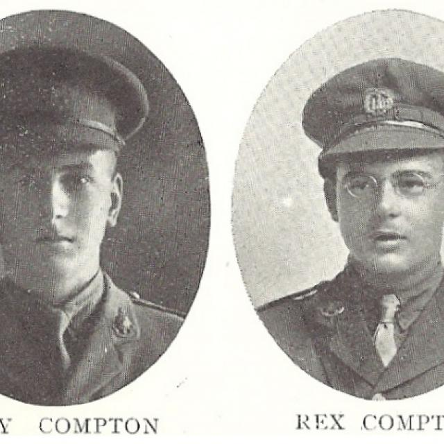 guy and rex compton plaque