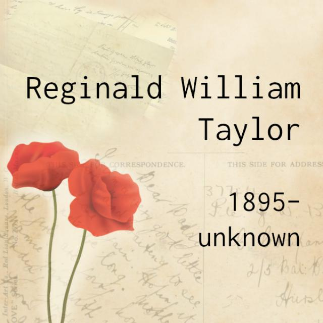 reginald william taylor (no picture available)